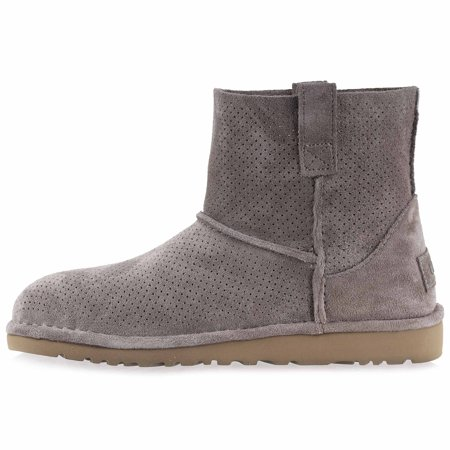 95af5977a42 UGG - UGG Woman's Unlined Classic Mini Perf Suede Boots - Walmart.com