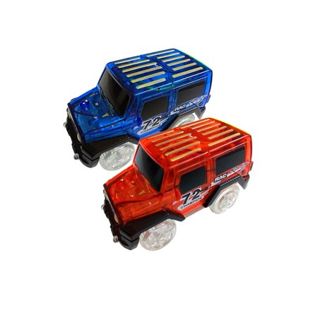 1Pcs Cars For Magic Tracks Glow in the Dark Amazing Racetrack Light Up Race (Not Include Tracks) - image 3 of 4
