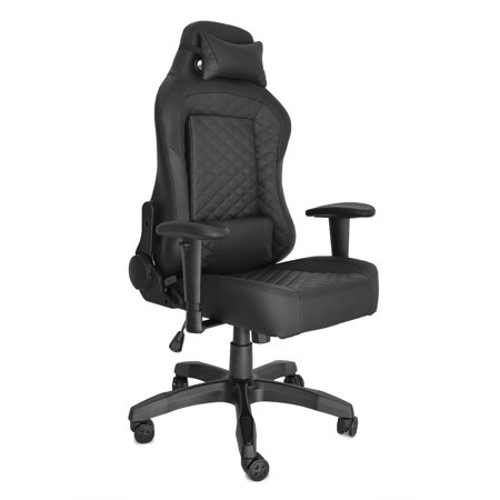 Miraculous Gaming Office Chair Game Racing Ergonomic Backrest And Seat Height Adjustment Computer Chair With Pillows Recliner Swivel Rocker Headrest And Lumbar Bralicious Painted Fabric Chair Ideas Braliciousco