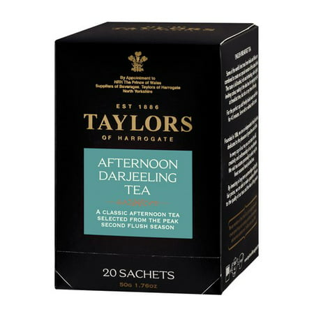 Taylors of Harrogate Afternoon Darjeeling Tea, 50 Tea Bags