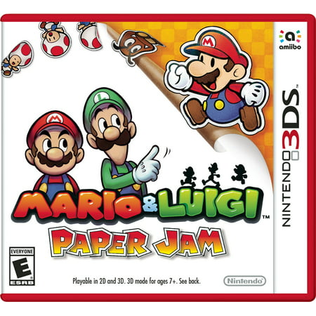 Mario And Luigi Paper Jam  Nintendo 3Ds