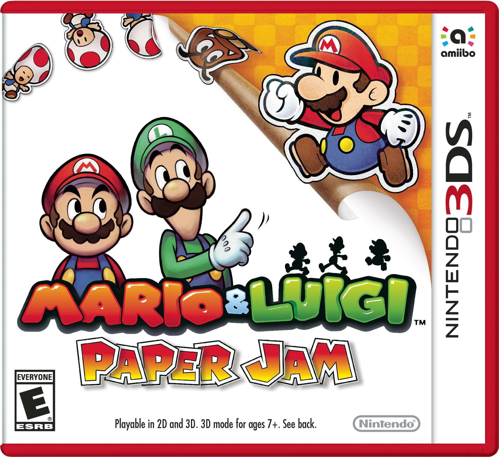 Mario & Luigi Paper Jam, Nintendo, Nintendo 3DS, 045496743598