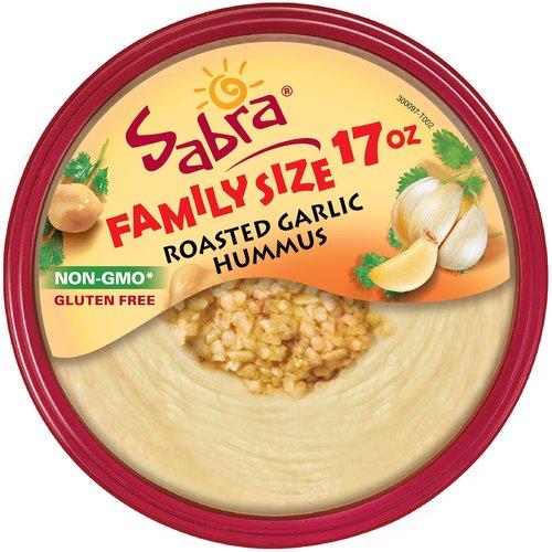Sabra Roasted Garlic Hummus, 17 oz