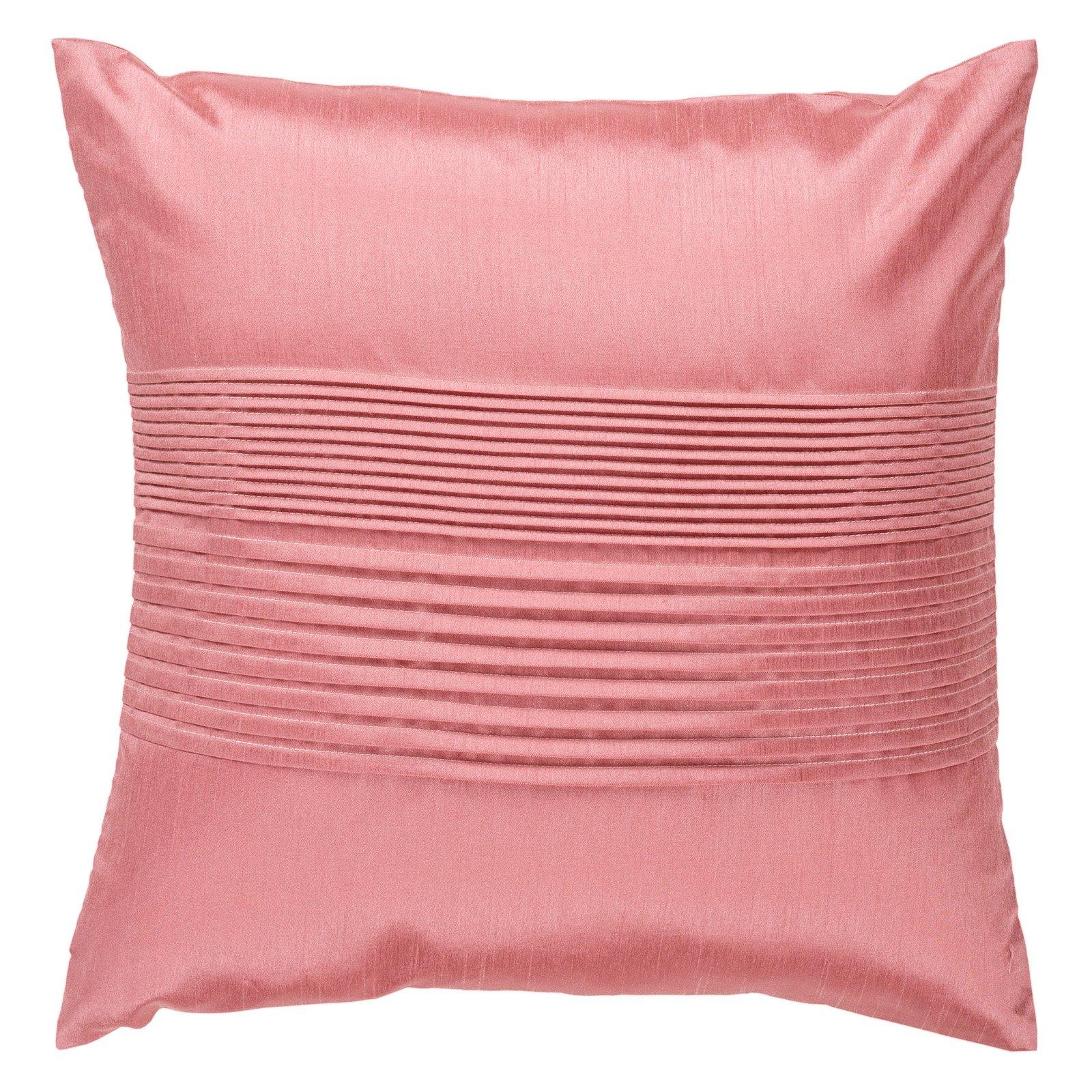 Surya Tracks Decorative Pillow - Salmon