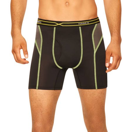 Hanes Men's X-Temp Performance Cool Boxer Brief, Colors ...