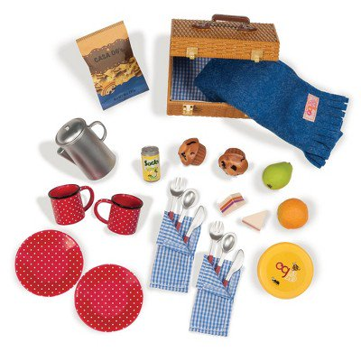 Our Generation Packed for a Picnic - Accessory Set for 18