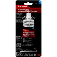 Bondo Glazing and Spot Putty, 00907ES, 4.5 oz, 1 Tube