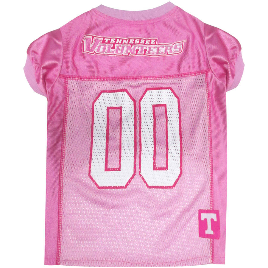 Pets First College Tennessee Volunteers Pet Pink Jersey, 4 Sizes Available