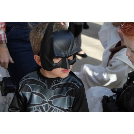 LAMINATED POSTER Boy Young Halloween Bat Costume Batman Kid Poster Print 24 x - Halloween Art For Young Children