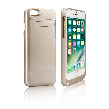 Stylish Gold Rechargeable Protective Battery Case - iPhone 7 - Gold -
