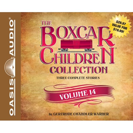 The Boxcar Children Collection Volume 14 : The Canoe Trip Mystery, The Mystery of the Hidden Beach, The Mystery of the Missing (Boxcar Grand Trunk)