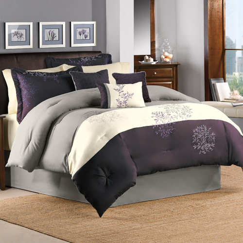 Hallmart Collectibles Country Manor Glenberry 7 Piece Comforter Set