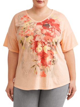 270430e4a8f Product Image Women s Plus Size Graphic Short Sleeve T-Shirt