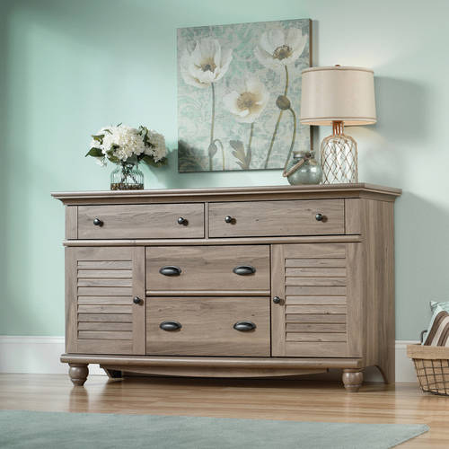 Sauder Harbor View 4-Dresser, Salt Oak