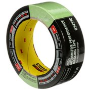 "3M Standard Painters Masking Tape, Green - 1-1/2""; x 35 yards (36mm x 32m), 1 roll, sold by roll"