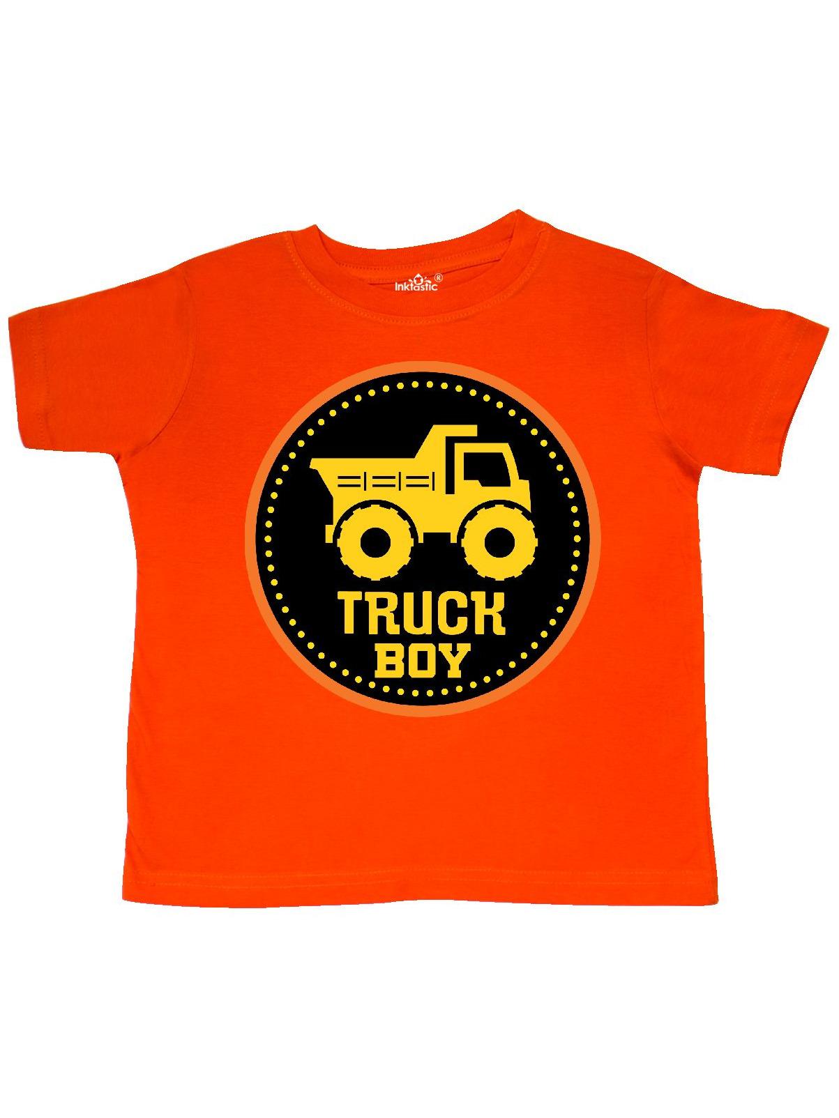 Construction Truck Boy Childs Toddler T-Shirt