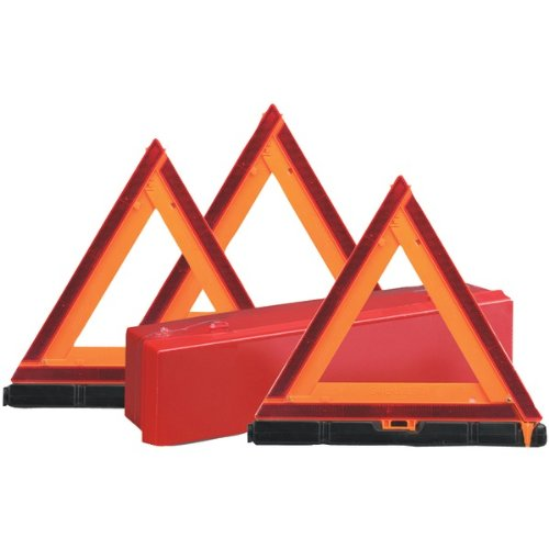 Sate-lite Emergency Warning Triangles - Plastic - Orange (73-0711-00)