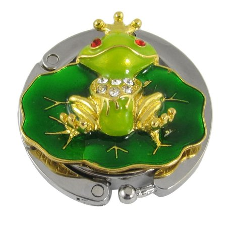 Fashion Culture Frog Prince Portable Handbag Hanger Purse Hook