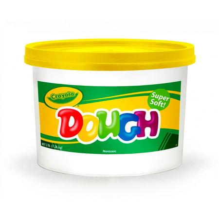 Crayola Super Soft Yellow Modeling Dough, 3 pounds