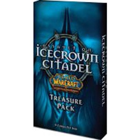 World of TCG WoW Trading Card Game Assault on Icecrown Citadel Treasure Pack, World of Warcraft TCG WoW Trading Card Game Assault on Icecrown Citadel Treasure Pack By Warcraft Ship from US (Warcraft Miniatures Game)