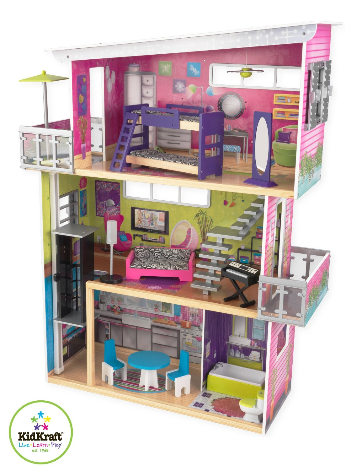 kidkraft my modern mansion dollhouse - discover extra picture and ... - ^