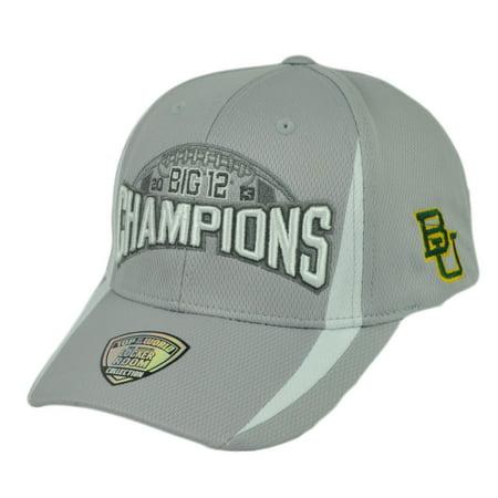 NCAA Big 12 2013Champions Locker Room Baylor Bears  Top the World Hat Cap