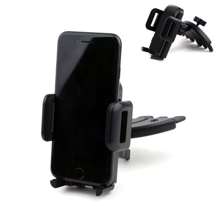 - Universal Cell Phone 360 Swivel Release Button CD Slot Car Mount Holder for iPhone 7 7 Plus