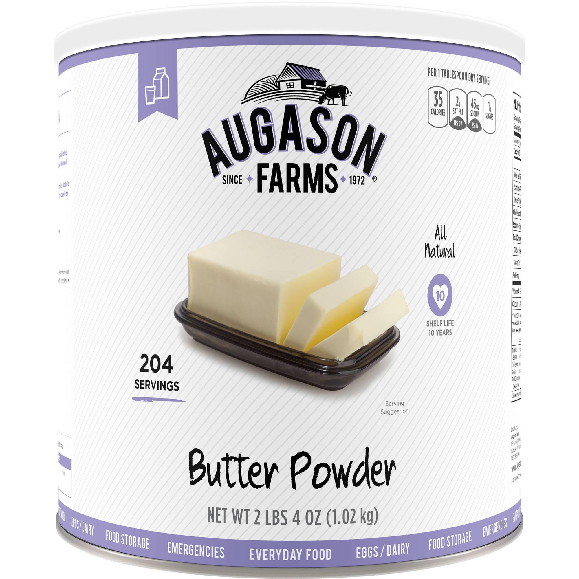 Augason Farms Emergency Food Butter Powder, 36 oz