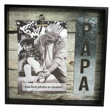 PAPA PHOTO FRAME, 8 X 8 IN - Walmart.com