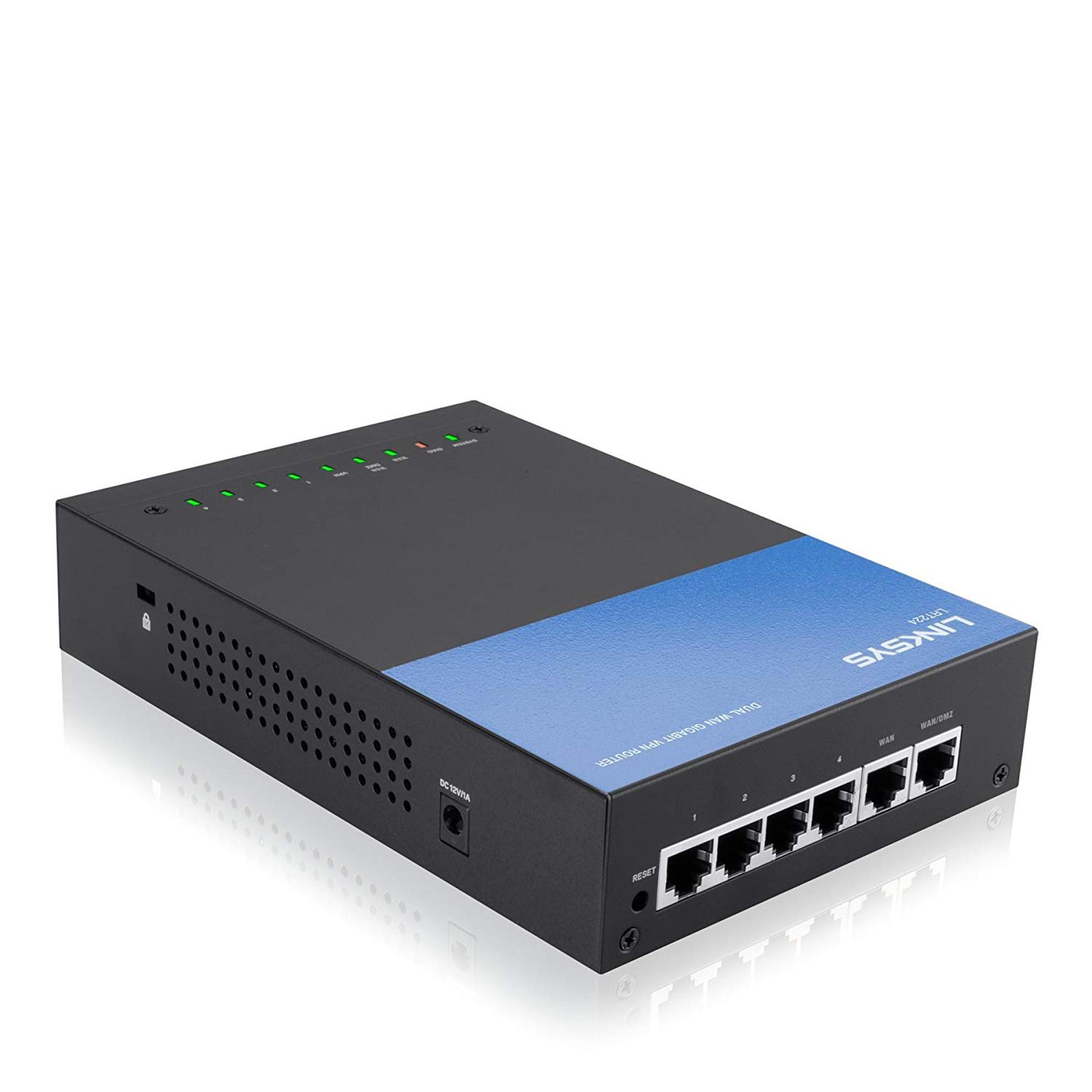 Linksys LRT224 Dual WAN Business Gigabit VPN Router