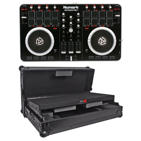 Numark MixTrack Pro II 2 MIDI USB DJ Controller/Audio Interface+Hard on numark mixtrack pro scratching, numark mixtrack vs mixtrack pro, numark mixtrack pro pitch bend, numark mixtrack pro software,