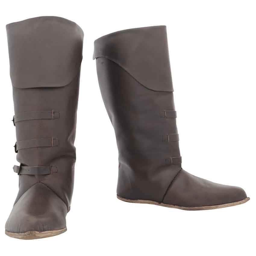 Batt - Mid Calf Leather Boots