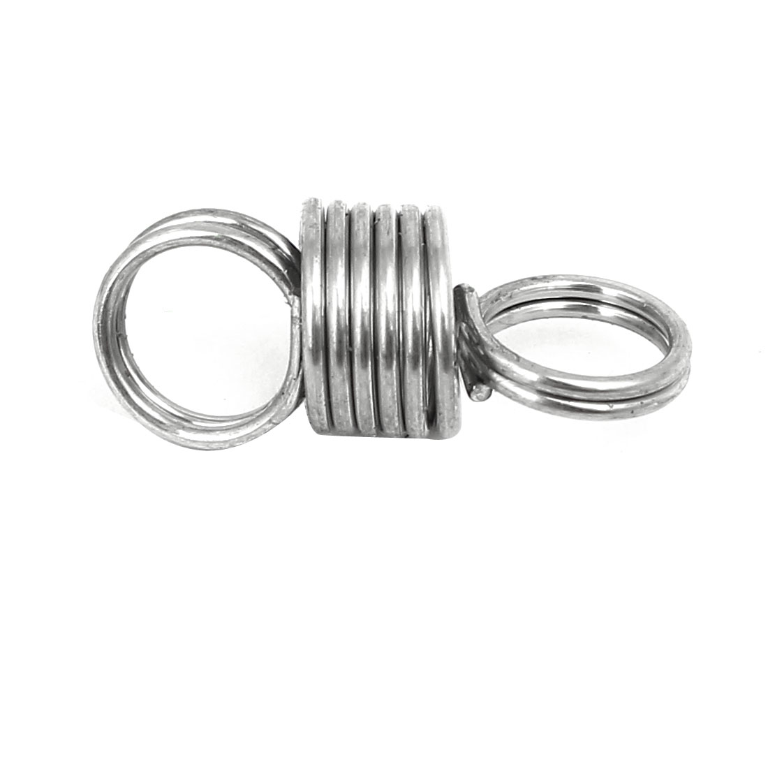 0.8mmx8mmx20mm 304 Stainless Steel Tension Springs Silver Tone 5pcs - image 1 of 3