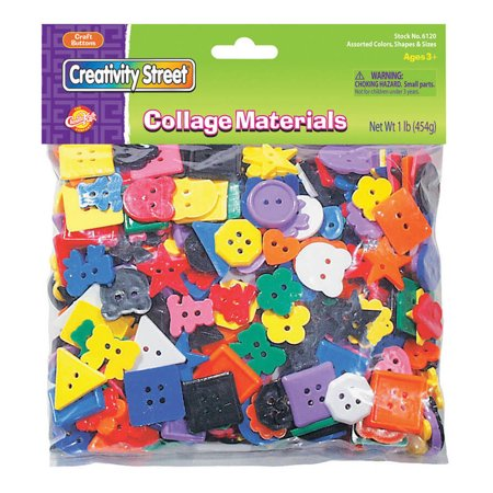 Creativity Street® Craft Buttons, Assorted Colors, 1 -