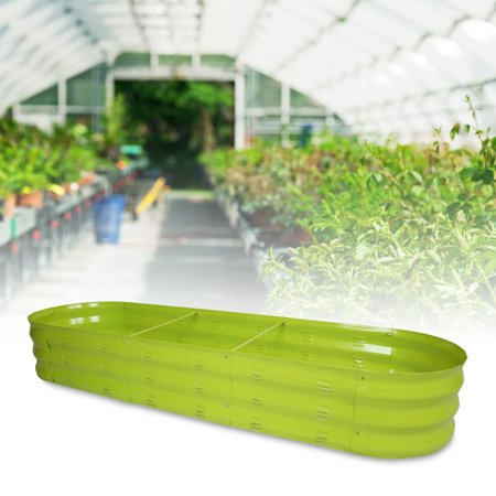 Finether Metal Raised Vegetable Garden Bed Planter Box For Veggies