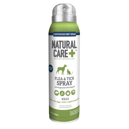 Natural Care Flea And Tick Spray For Dogs And Cats