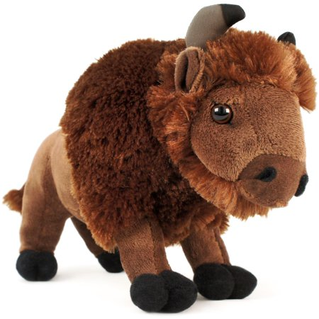 Billy the Bison | 11 Inch Buffalo Stuffed Animal Plush | By Tiger Tale Toys (Bison Animals)