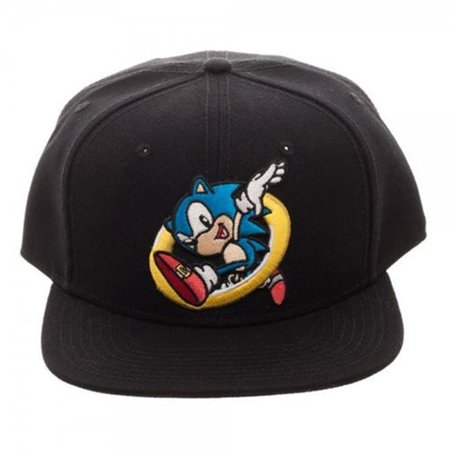4dc3996ae Sonic Embroidered Snapback Hat ( Number of Pieces per Case:3)