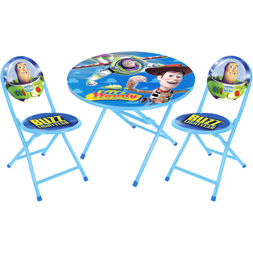 Disney Toy Story Round Table and Chair Set