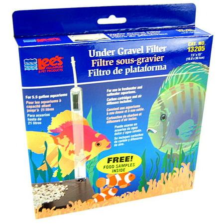 Lees Undergravel Filter - Lees Lee's Original Under Gravel Filter 5.5 Gallon - (7.5