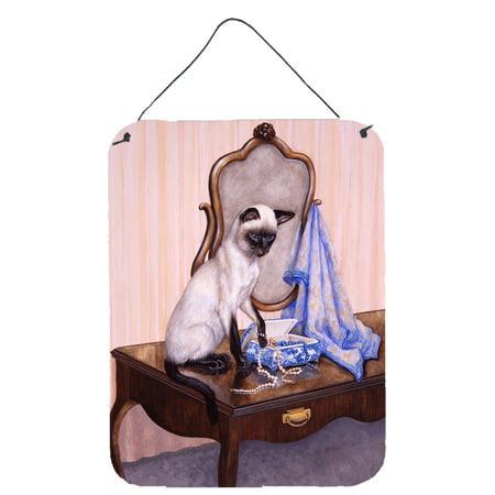 On The Dresser Siamese cat Wall or Door Hanging Prints