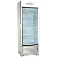 9.0 cu. ft Single Door Commercial Refrigerator Beverage Cooler in Gray