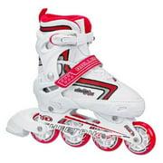 Roller Derby Girl's Cheetah S4 Adjustable Inline Roller Skates - I136G (Medium (3-6))