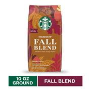 Starbucks Medium Roast Ground Coffee  Fall Blend  100% Arabica  1 bag (10 oz)