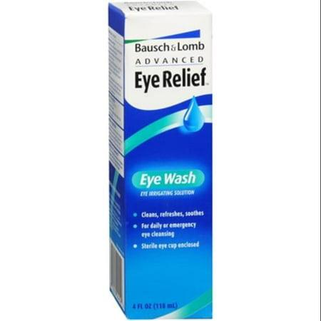 Bausch Amp Lomb Advanced Eye Relief Eye Wash 4 Oz Pack Of 4