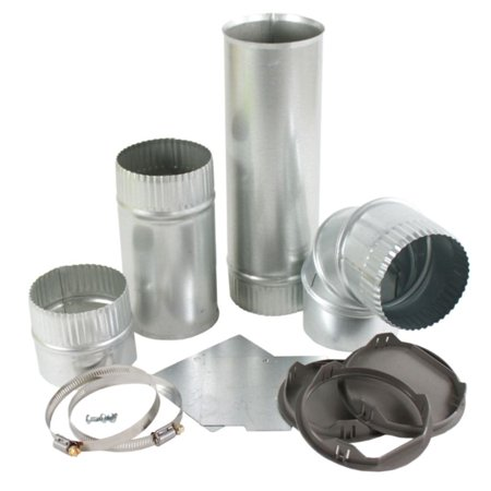 W10323246 Whirlpool Dryer Vent Kit 4-Way(Alp OEM (Whirlpool Dryer Vent)