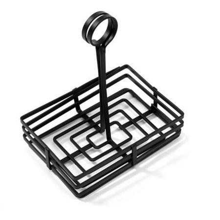 American Metalcraft Rectangular Basket - American Metalcraft - FWC68 - 8 in x 6 in Flat Coil Condiment Basket
