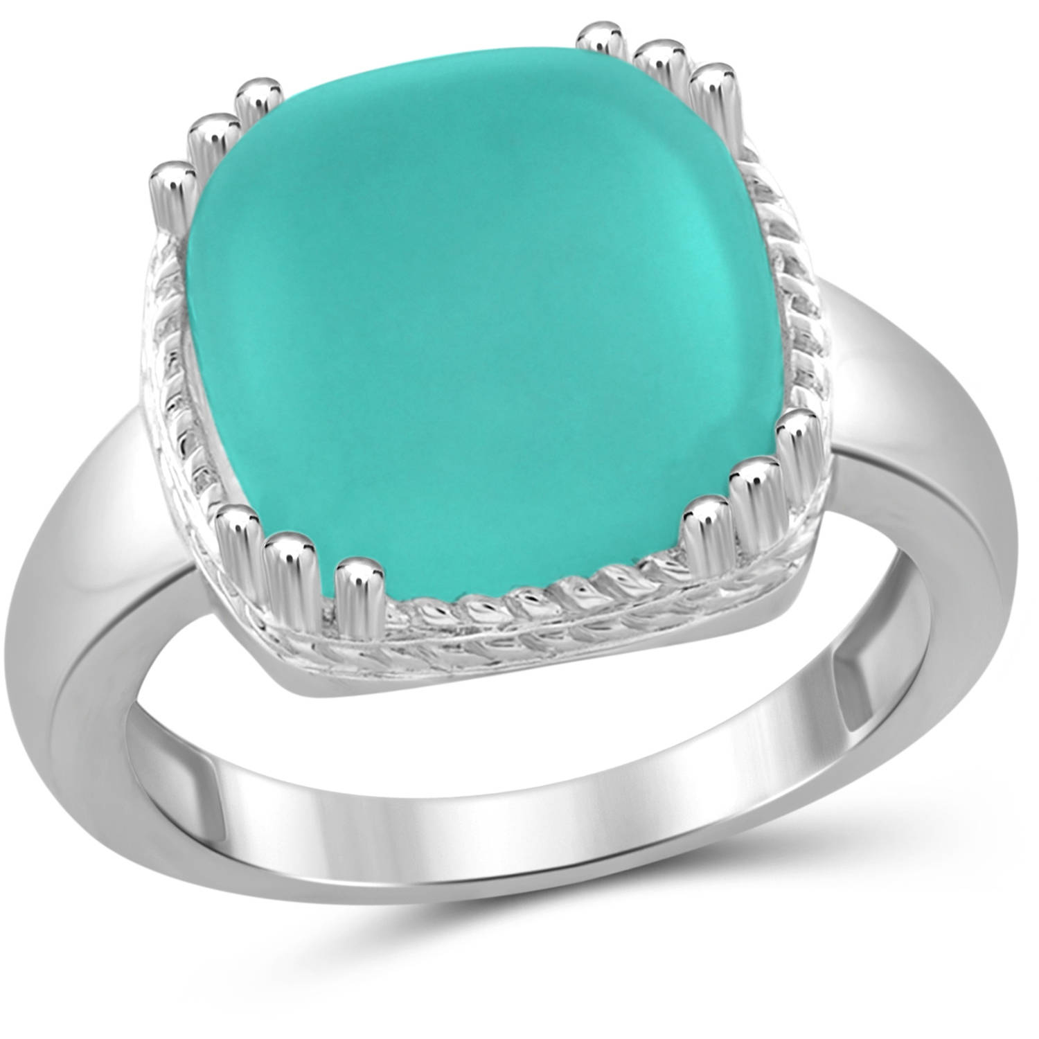 JewelersClub 6-3 4 Carat T.G.W. Chalcedony Sterling Silver Fashion Ring by JewelersClub