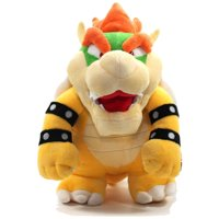 "King Bowser Plush Nintendo Mario Kart Toys 10"" Super Mario Collectors Plush Bowser Soft Stuffed Plush Toy Standing King Bowser Koopa Nintendo Stuffed Animal"
