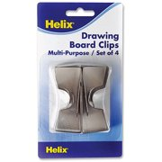 Helix Multipurpose Drawing Board Clips